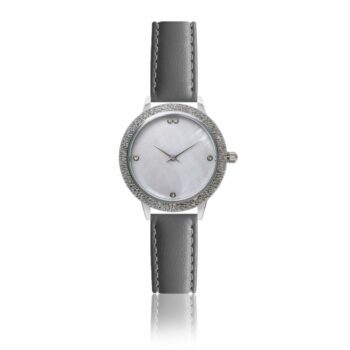 SELONCE ANNIE ROSEWOOD Watch  Silver 10M1-LG14