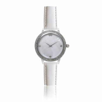 SELONCE ANNIE ROSEWOOD Watch  Silver 10M1-W14