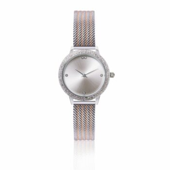 SELONCE ANNIE ROSEWOOD Watch  Silver 10M5-RS14