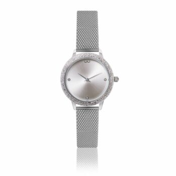 SELONCE ANNIE ROSEWOOD Watch  Silver 10M5-S14