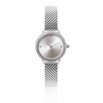 SELONCE ANNIE ROSEWOOD Watch  Silver 10M5-SS14