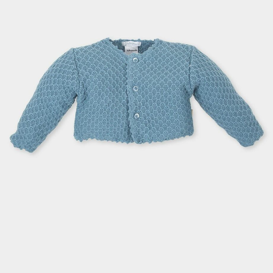 SELONCE TUTTO PICCOLO BABY GIRLS Jackets 3644NUW17-AGUAMARINA