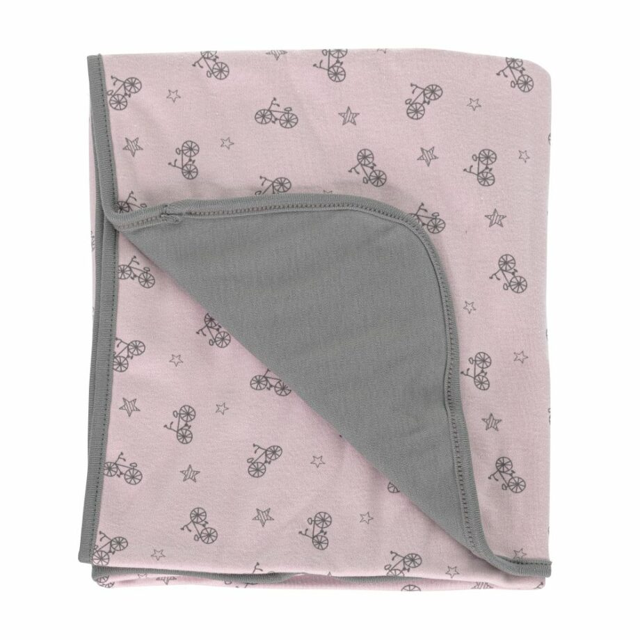 SELONCE  BLANKETS Pink-Grey 4068-ROSA
