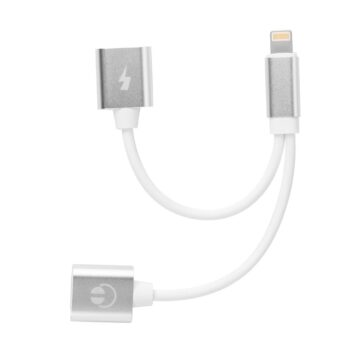 SELONCE ELITACCESS CHARGE AND CABLE Lightning adapter 1 male and 2 female ios 11 AC 124