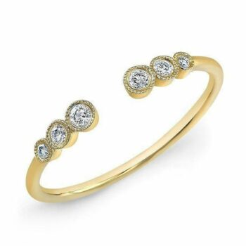 SELONCE ALMA & CO WOMEN OPENING RING ALMS19WR022YG