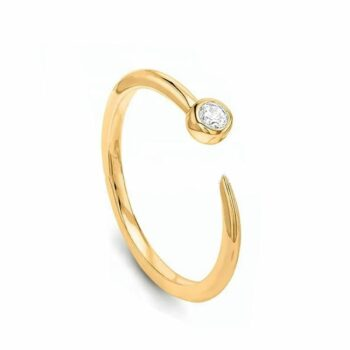 SELONCE ALMA & CO WOMEN OPENING RING ALMS19WR023YG