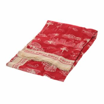 SELONCE GUESS WOMEN SCARF AW8613MOD03-RED
