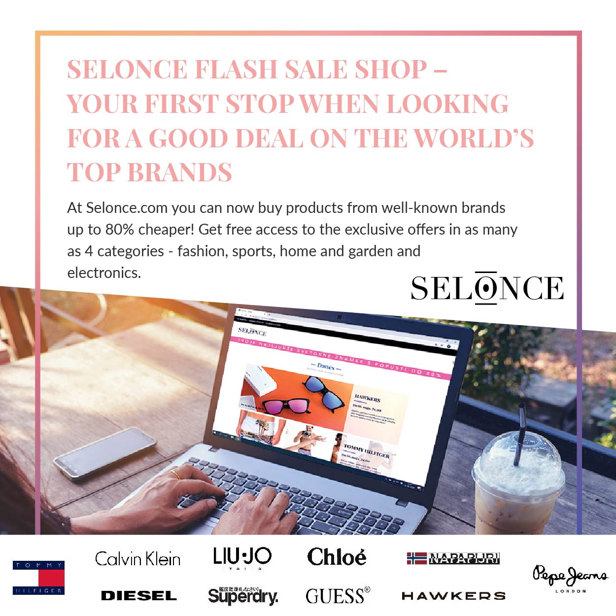 selonce discounts and codes