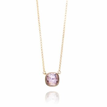 SELONCE ANNIE ROSEWOOD Necklace Gold CN07777-01