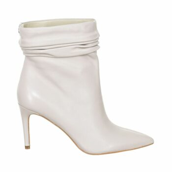 SELONCE GUESS WOMEN HIGH HEEL ANKLE BOOTS FL7BEWLEA10-WHITE