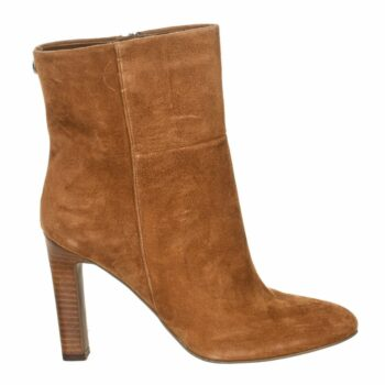 SELONCE GUESS WOMEN HIGH HEEL ANKLE BOOTS FL7HASSUE10-COGNA