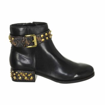 SELONCE GUESS WOMEN ANKLE BOOTS FL8AELFAL10-BLKBR