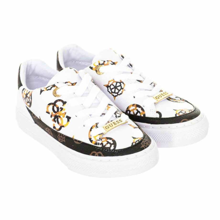 SELONCE GUESS WOMEN SNEAKERS FL8LUSFAL12-WHITE