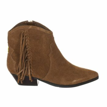 SELONCE GUESS WOMEN ANKLE BOOTS FL8NAMSUE10-BROWN