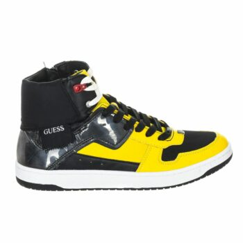 SELONCE GUESS MEN LOW-TOP SNEAKERS FM8DNKFAB12-YELLO