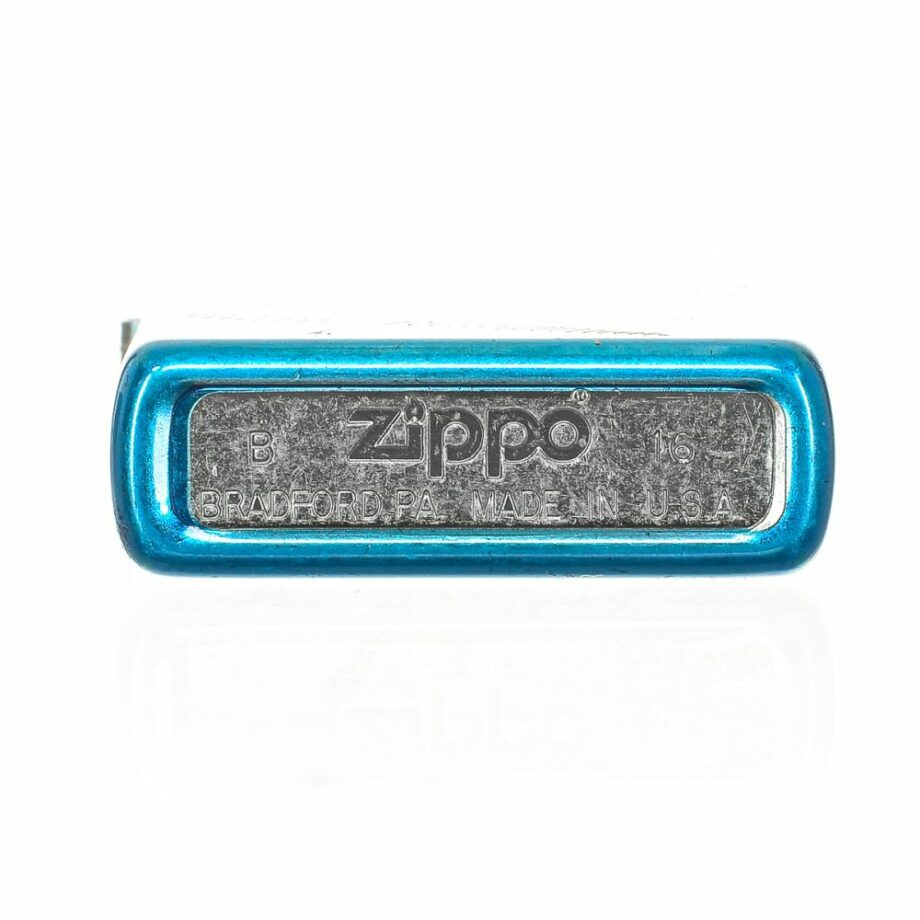 3 Zippo Fractal Limited Edition. Color blue Very elegant design. Print printed on the front. Brilliant effect. ATTENTION: The lighter does not come with Gasoline. To be able to use the lighter you have to add gasoline. For shipping security it is not possible to send it loaded with gasoline.