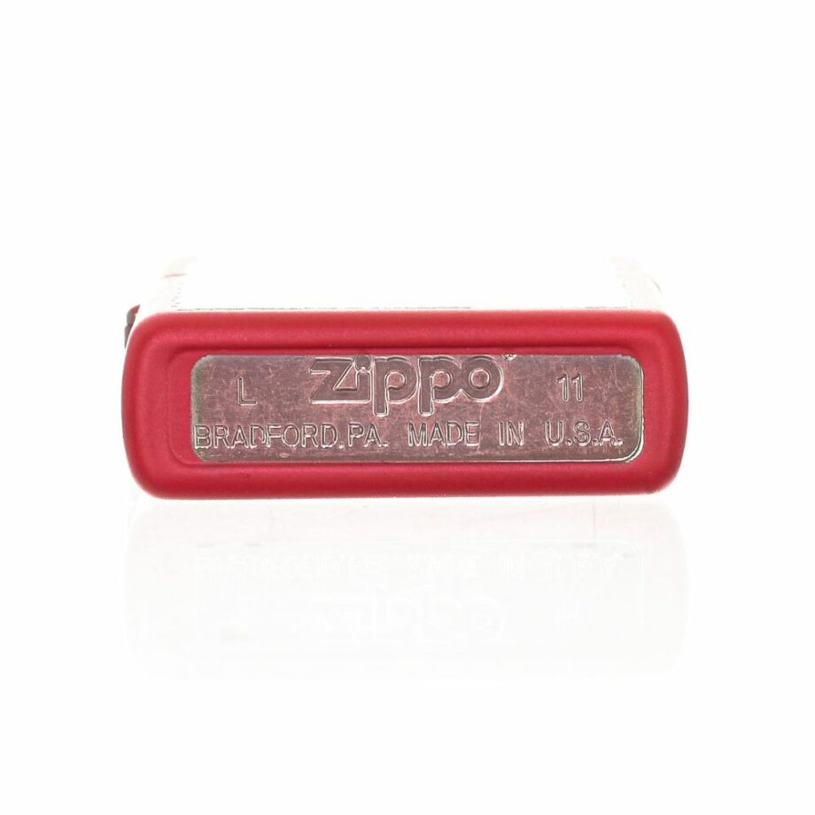 3 Zippo Fuel Cans Limited Edition Color Matte Red Very elegant design Print printed on the front Matte effect ATTENTION: The lighter does not come with Gasoline To be able to use the lighter you have to add gasoline For shipping security it is not possible to send it loaded with gasoline
