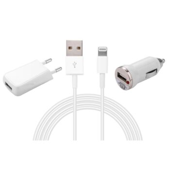 SELONCE ELITACCESS CHARGE AND CABLE Pack 3/1 with usb cable to lightning 1 meter KIT 2