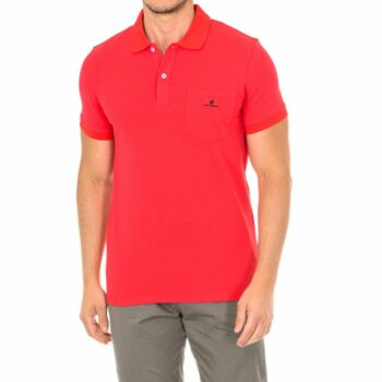 SELONCE KARL LAGERFELD MEN POLO SHIRTS KL19MPL01-RED