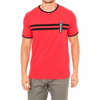 SELONCE KARL LAGERFELD MEN T-SHIRTS KL19MTS02-RED