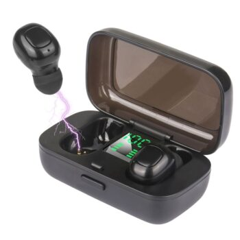 SELONCE ELITACCESS AUDIO AND VIDEO Mini bluetooth v5.0 earphones with led display ORB 61
