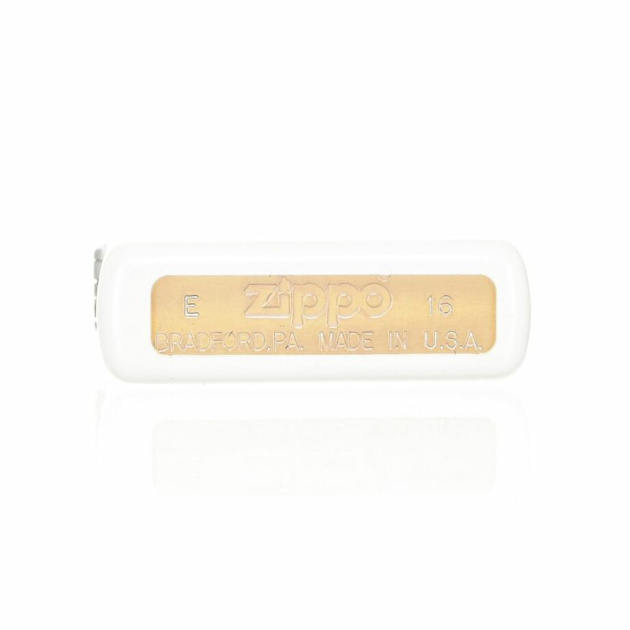 3 Zippo Race car Limited Edition White color Very elegant design Print stamped in contrast