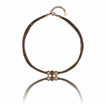 SELONCE TIME FORCE WOMEN NECKLACE TS5137CR