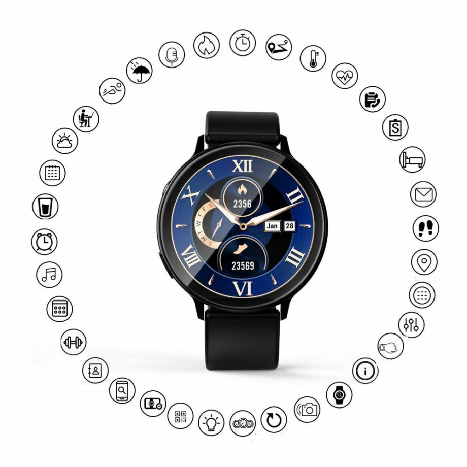 SELONCE ELITEACCESS MULTIFUNCTIONAL BLUETOOTH CONNECTED WATCH WATCH AND BRACELET  WAC 126