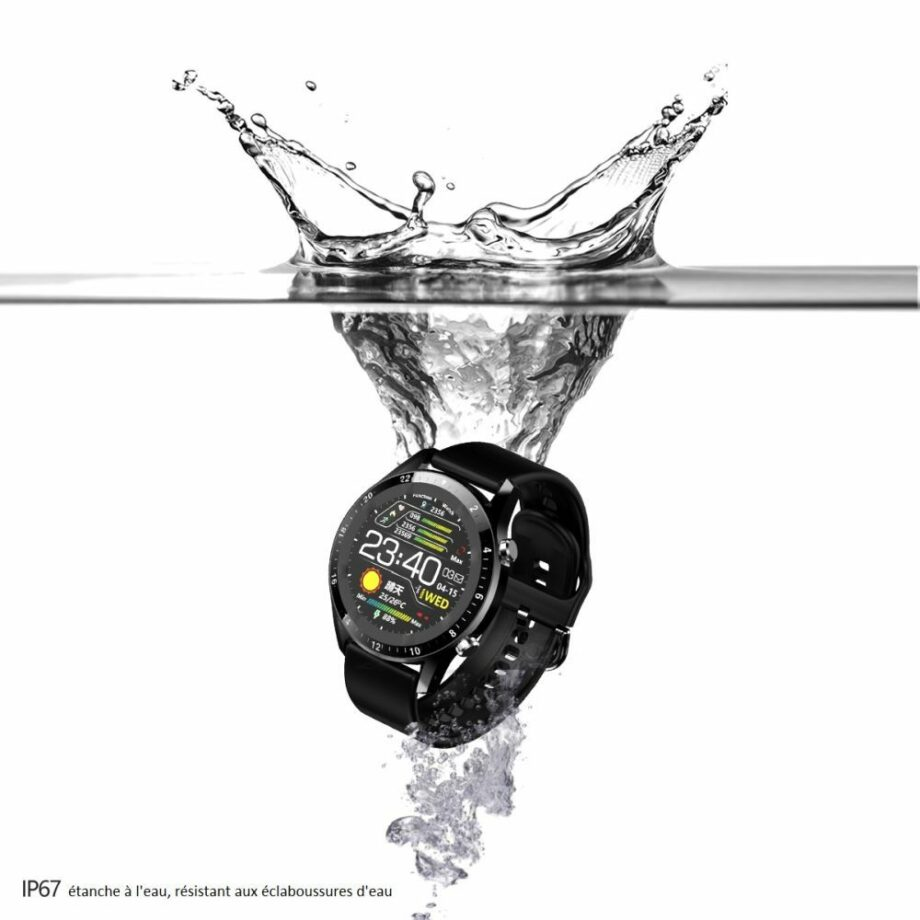 SELONCE ELITEACCESS MULTIFUNCTIONAL BLUETOOTH CONNECTED WATCH WATCH AND BRACELET  WAC 129