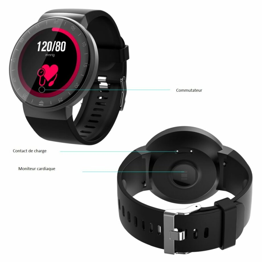 SELONCE ELITEACCESS MULTIFUNCTIONAL BLUETOOTH CONNECTED WATCH WATCH AND BRACELET  WAC 130