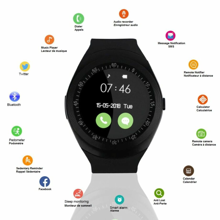 SELONCE ELITACCESS CONNECTED WATCH BLACK WAC 46