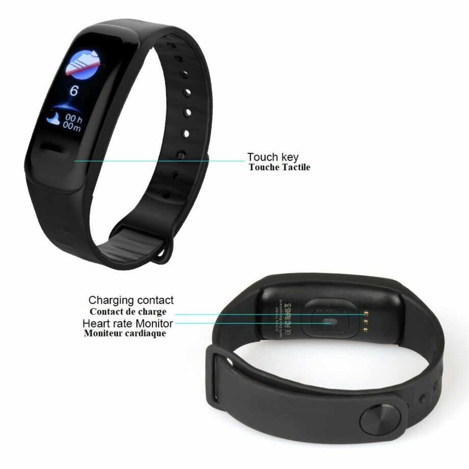 SELONCE ELITEACCESS MULTIFUNCTIONAL BLUETOOTH GPS WATCH iOS & ANDROID COMPATIBLE WATCH AND BRACELET WAC 80