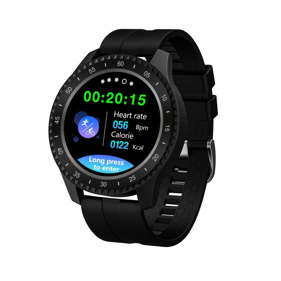 SELONCE ELITEACCESS BLUETOOTH MULTI-SPORT WATCH COMPATIBLE iOS & ANDROID BLACK WATCH AND BRACELET WAC 92