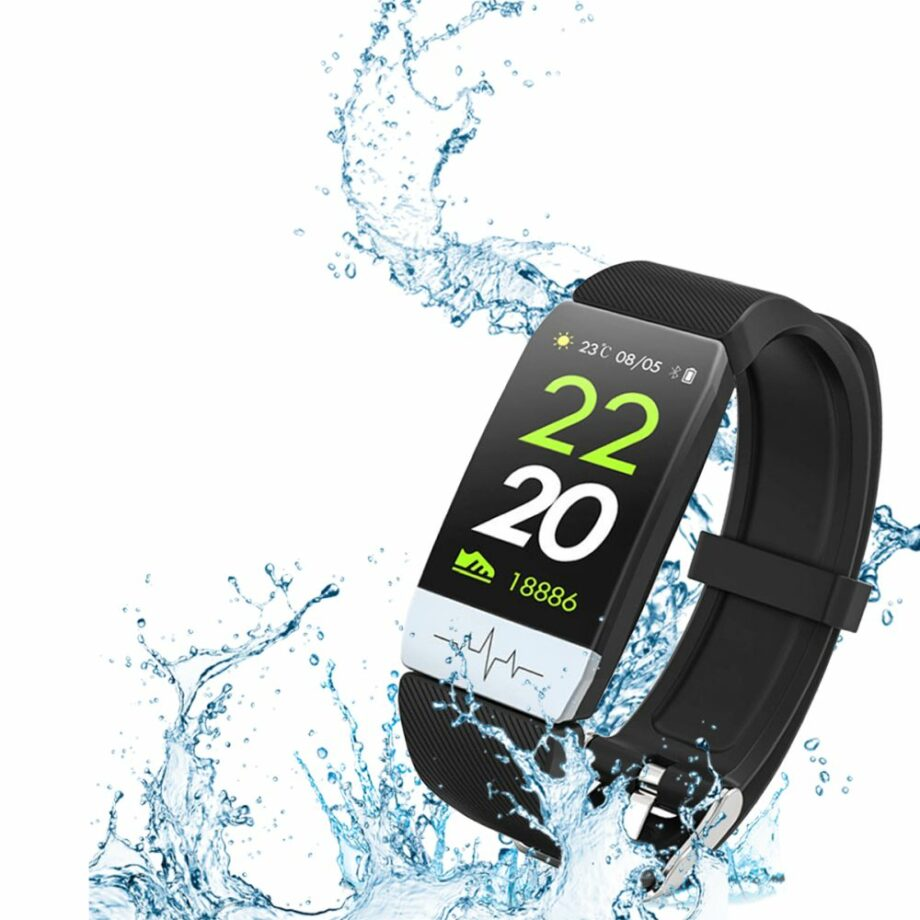 SELONCE ELITEACCESS BLUETOOTH MULTI-SPORT WATCH COMPATIBLE iOS & ANDROID BLACK WATCH AND BRACELET WAC 93