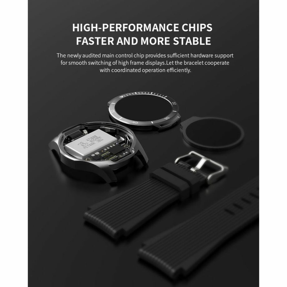 SELONCE ELITEACCESS BLUETOOTH MULTI-SPORT WATCH COMPATIBLE iOS & ANDROID BLACK WATCH AND BRACELET WATCH AND BRACELET