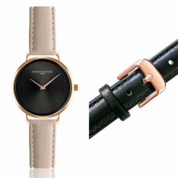 SELONCE ANNIE ROSEWOOD Set of Watch & Extra Strap Rose gold  WSET010