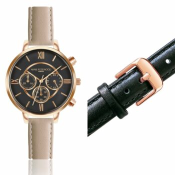 SELONCE ANNIE ROSEWOOD Set of Watch & Extra Strap Rose gold  WSET017